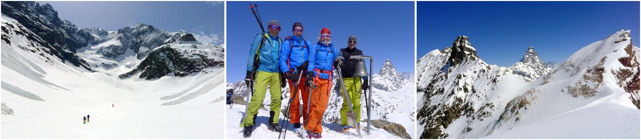 Skitouren Valpelline Prarayer