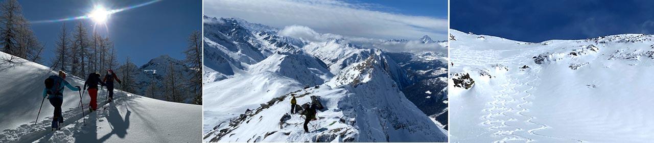 Skitouren Goms